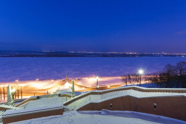 Chkalov stairs, Nizhny Novgorod – Russia