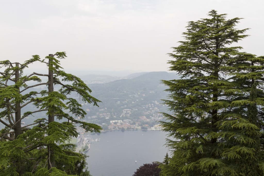 Como Lake View from Brunate, Italy