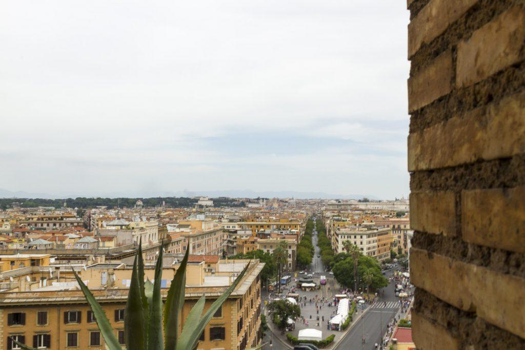 Vista su Roma dal Vaticano, Italia