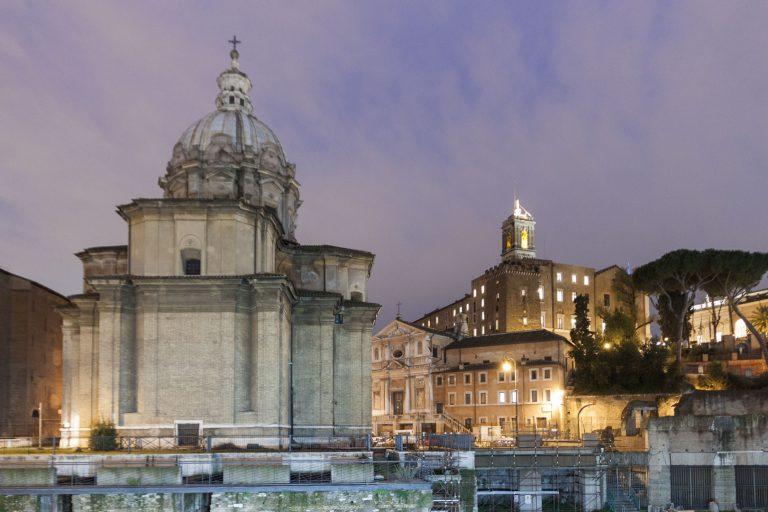 Chiesa dei Santi Luca e Martina, Rome – Italy
