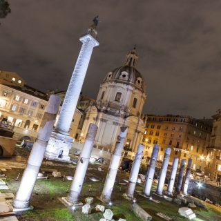 Piazza Foro Traiano, Rome – Italy