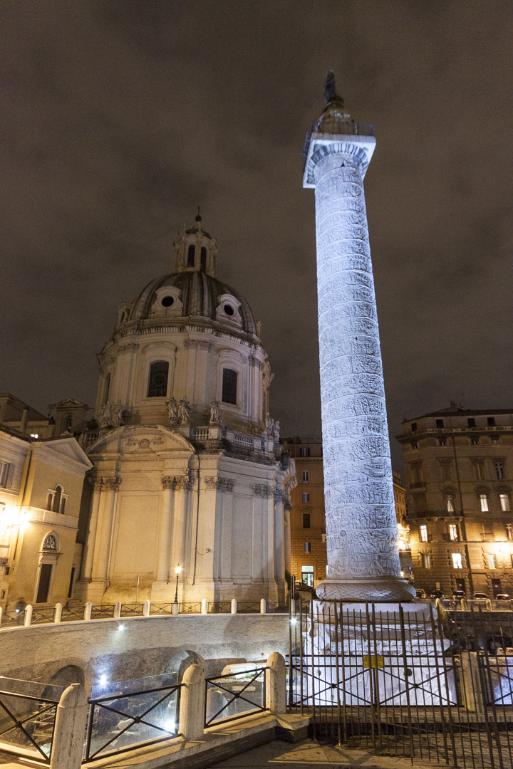 Colonna Traiana, Rome – Italy