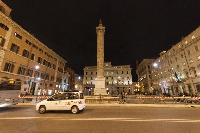 Piazza Colonna, Rome – Italy