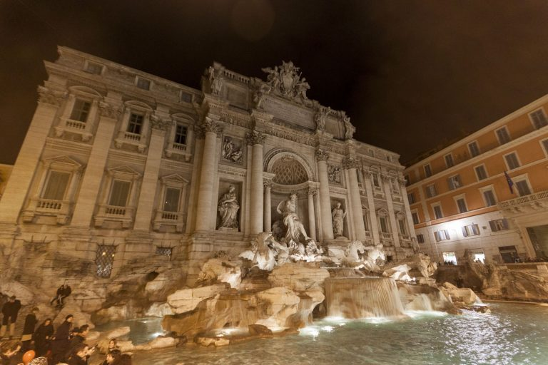 Trevi Fountain, Rome – Italy
