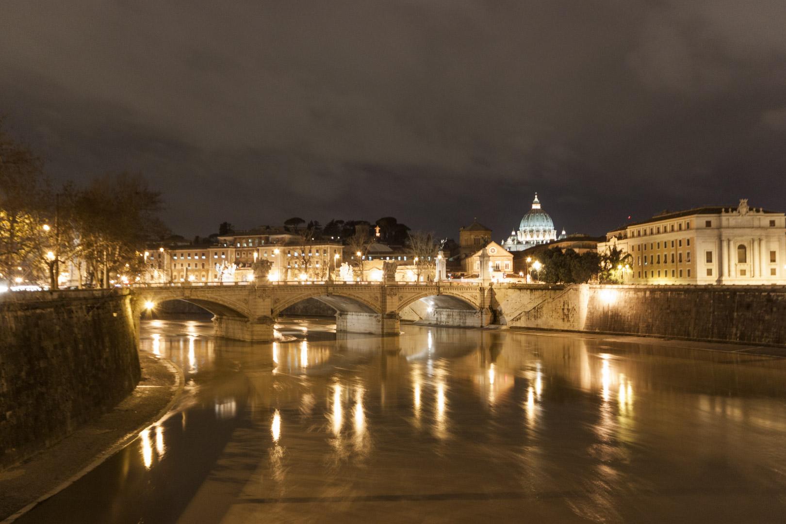 Ponte Vittorio Emanuele II, Rome – Italy