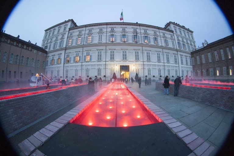Palazzo Reale fisheye picture – Turin, Italy