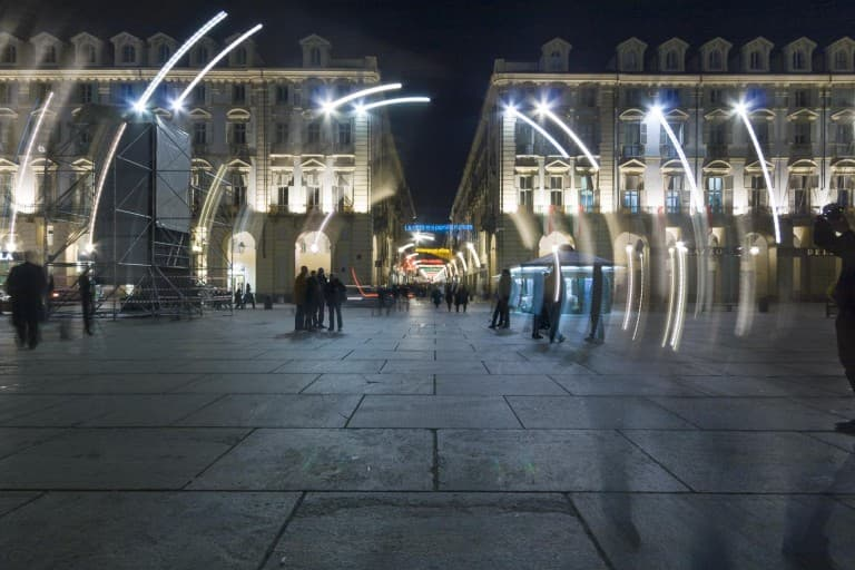 Piazza Castello & Via Garibaldi by night – Turin, Italy