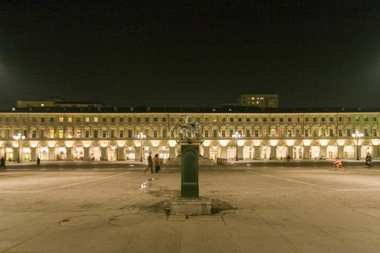 Piazza San Carlo by night – Turin, Italy