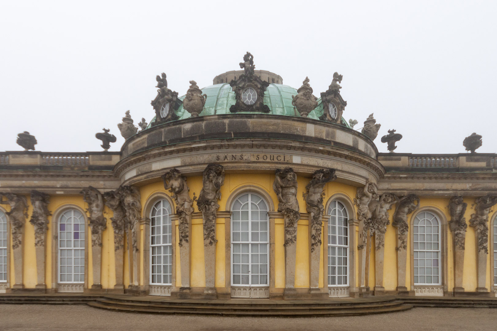 Sanssouci Palace, Potsdam – Germany