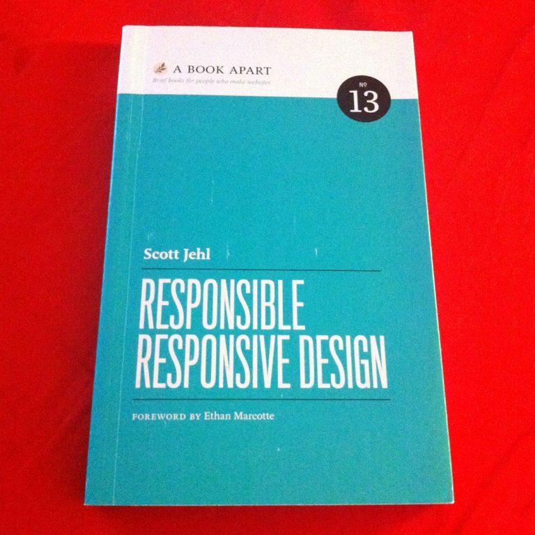 Libro Responsible Responsive Design di Scott Jehl