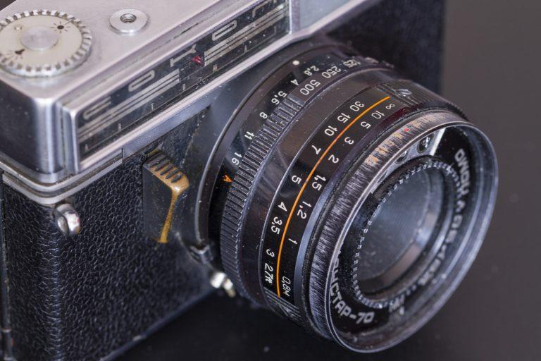 Sokol Automat – Soviet 35mm Rangefinder Film Camera